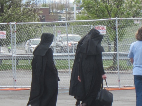 Nuns attending the Donald J Trump rally on 4/25/2016